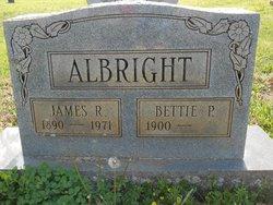 Betty P <i>Stone</i> Albright