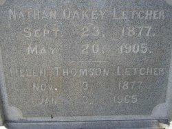Nathan Oakey Letcher