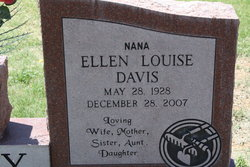 Ellen Louise <i>Davis</i> Riley
