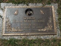 Ella Mae <i>Medford</i> Boone