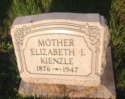 Elizabeth Isabella Lizzie <i>Baldinger</i> Kienzle