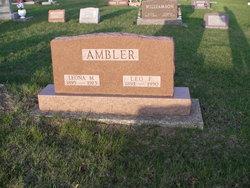 Leona M. <i>DuBois</i> Ambler