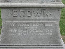 Lola A. <i>Baker</i> Brown