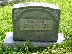 Lizzie <i>McDaniel</i> Hyden