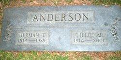 Lillie <i>Blaha</i> Anderson
