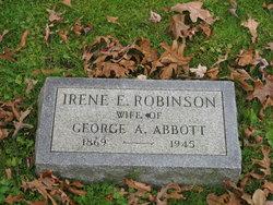 Irene <i>Robinson</i> Abbott
