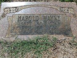 Harold Wayne Smith