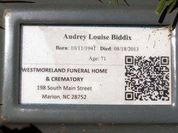 Audrey Louise <i>Tolley</i> Biddix