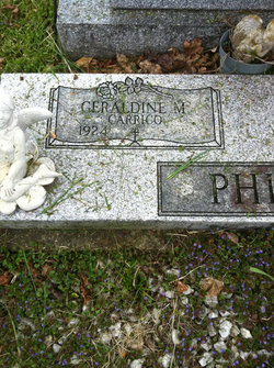 Geraldine Marie <i>Carrico</i> Phillips