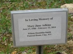 Mary June <i>Ramsey</i> Adkins