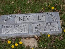 Emma Frances Bevell