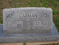 W M Mutt Carman