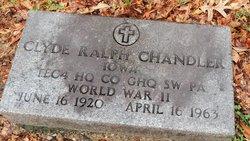 Clyde Ralph Chandler