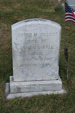 Sophia E <i>Osgood</i> Ball