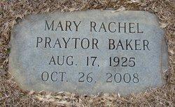 Mary Rachel <i>Praytor</i> Baker