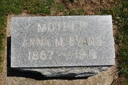 Anna Marie <i>Schneider</i> Evans