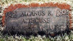 Alcanus K Althouse