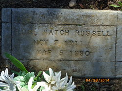 Rose <i>Hatch</i> Russell