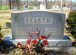 Sally Amelia <i>Prather</i> Felker