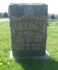 Alice M. <i>Daugherty</i> Billings