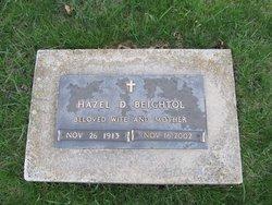 Hazel Delila <i>Hoover</i> Beightol