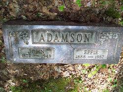 Effie <i>Harman</i> Adamson