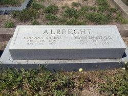 Dr Edwin Ernest Albrecht, OD