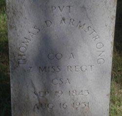 Thomas D. Armstrong