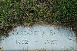 Margaret A. <i>Dalgleish</i> Bain