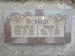 Phoebe Sophia <i>Curtis</i> McBride
