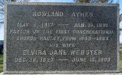 Elvira Jane <i>Webster</i> Ayres