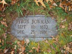 Byron Garfield Bowman