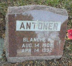 Blanche <i>Williams</i> Antonen