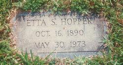 Etta Keys <i>Sigmon</i> Hopper