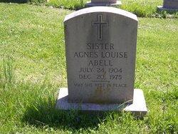 Sr Agnes Louise Abell