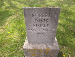Robert Davis Kimble