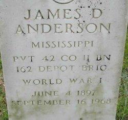 James D Anderson