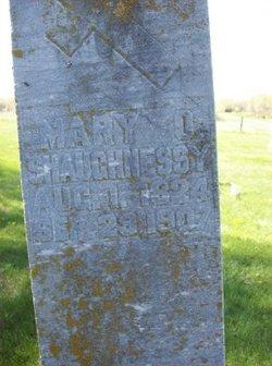 Mary <i>Cahill</i> O'Shaughnessy