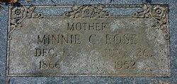 Minnie C. <i>Schrieber</i> Rose