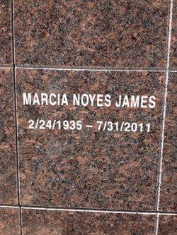 Marcia <i>Noyes</i> James