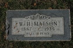 W H Matson