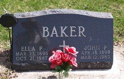 Ella P <i>Schoenfeld</i> Baker
