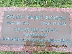 Evelyn <i>Biggart</i> Burns