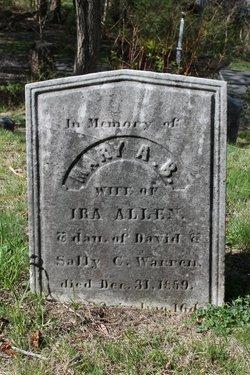 Mary A. B. <i>Warren</i> Allen