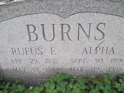 Rufus Edward Buck Burns, Jr