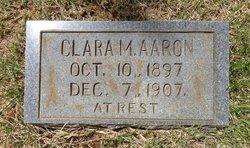 Clara M Aaron