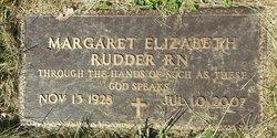 Margaret Elizabeth Peggy <i>Spriggs</i> Rudder