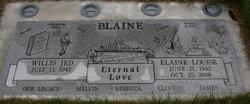 Elaine Louise <i>Ellis</i> Blaine