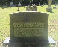 Josie <i>Earley</i> Viner