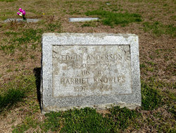 Harriet <i>Knowles</i> Anderson